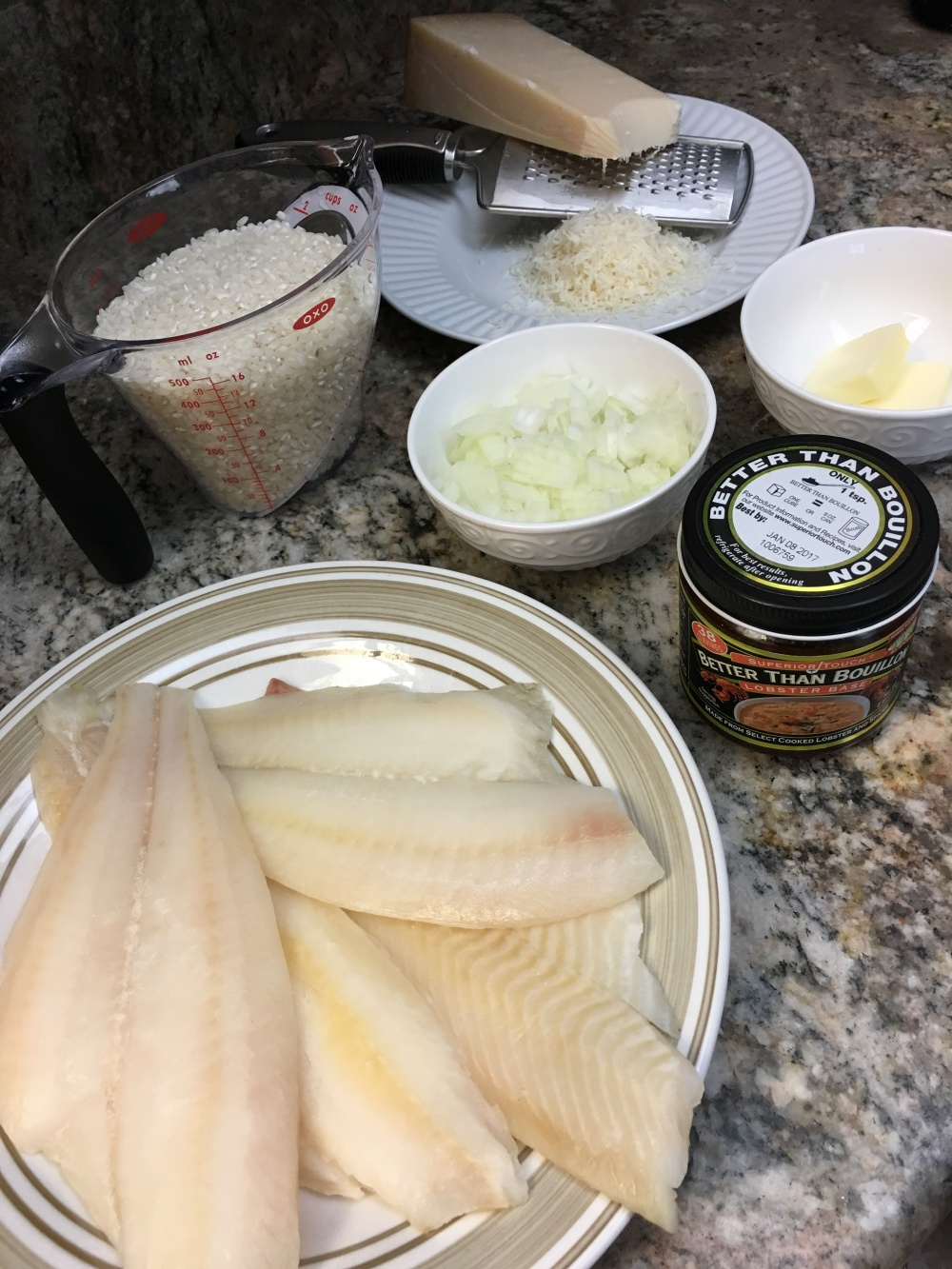 Simple Fish Risotto - Vittles for the Littles
